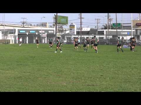SMRC Vs. Huntington Beach Unicorns Rugby Highlights (Week 8, 2011)