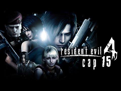 Resident Evil 4 Pt 15 (Escapando de la central de abastos)