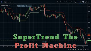 SuperTrend – The profit machine in Zerodha Kite