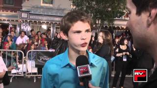Robbie Kay aka Cabin Boy at the World Premiere of Pirates of The Caribbean On Stranger Tides