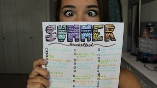 My Summer Bucketlist 2014 | Reese Regan Thumbnail