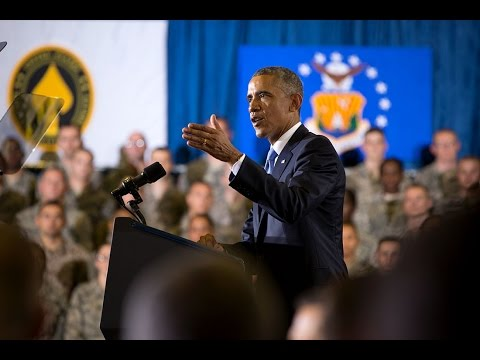 President Obama Speaks at MacDill Air Force Base