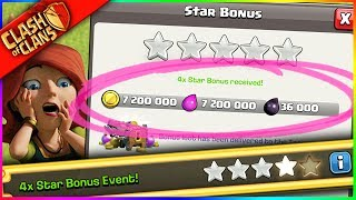 omg... IT'S THE BIGGEST JACKPOT IN CLASH HISTORY...