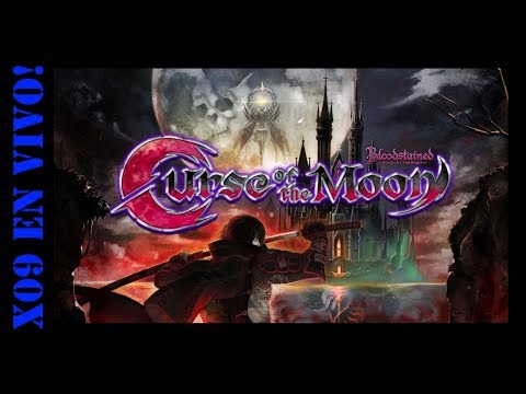 X09 Gameplay Bloodstained Curse of the Moon (Normal Mode)