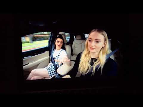 Game of Thrones, Maisie Williams and Sophie Turner Carpool Karaoke