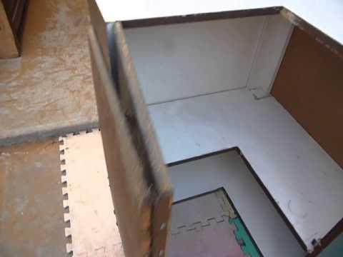 mueble cocina colgante esquinero - YouTube