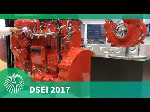 DSEI 2017: Cummins and their new ISL9 Engine