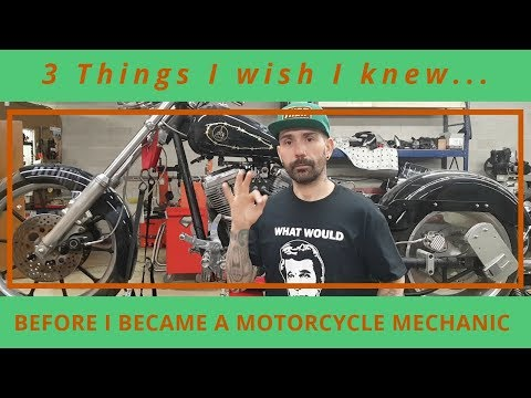 3 Things I Wish I Knew Before I Became a Motorcycle Mechanic