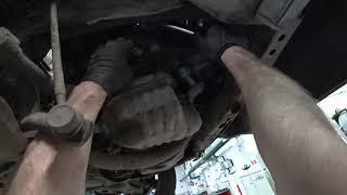 ТЦЛ. RAV-4\Мотор 2AZ. Замена обводного ремня.