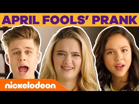 April Fools' Day 😂 Teleprompter Prank w/ Lizzy Greene, Ricardo Hurtado & More! l #FunniestFridayEver