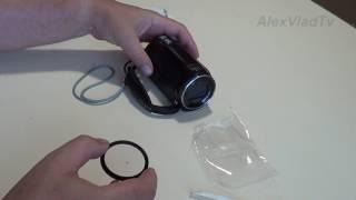 Защита объектива, UV фильтр для видеокамеры SONY HDR-CX620