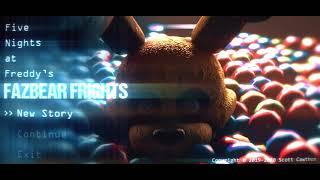Fazbear Frights FNAF Animation Main Menu
