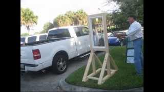 Window Security Film Demonstration In Palm Beach