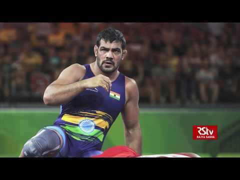 Sushil Kumar wins CWG Gold in 80 secs