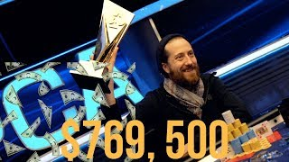 Poker Player Steve O'Dwyer Wins the PCA 2018 $50K Poker Tournament for $769,500