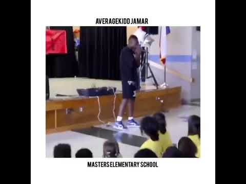 AKJ! Performs at Masters Elementary School