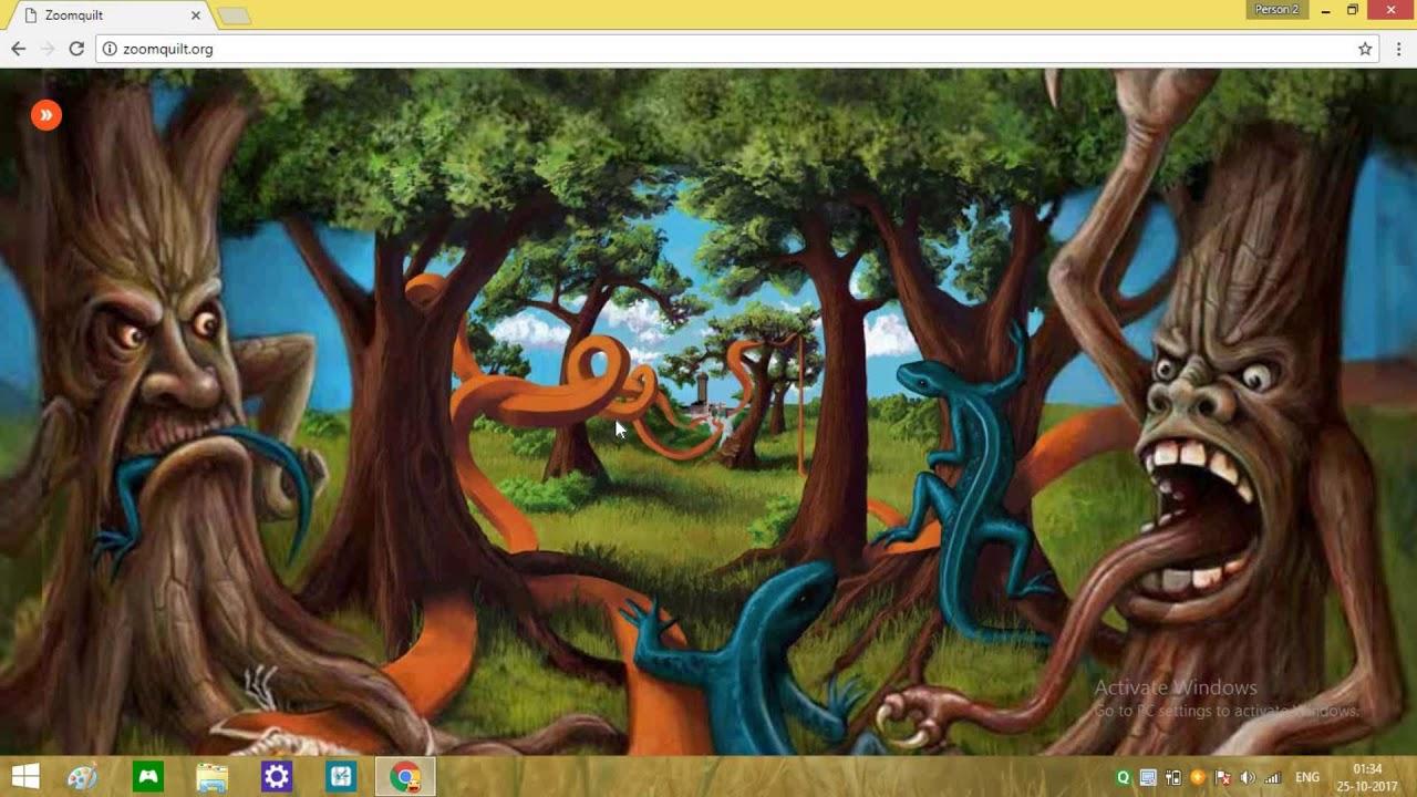 Creepy Website Zoomquilt Org Never End Zoom In - YouTube : zoom quilt - Adamdwight.com