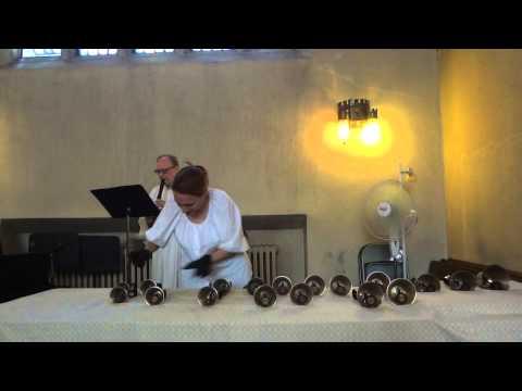 Handbells & recorder: J.S. Bach Crab Canon