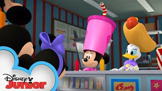 Mickey & Friends at the Drive In 🎥   Mickey Mornings   Mickey Mouse Roadster Racers   Disney Junior