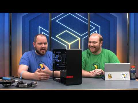 Inwin 901 Mini-ITX Build - i7-7700K / GTX 1080 (Livestream)