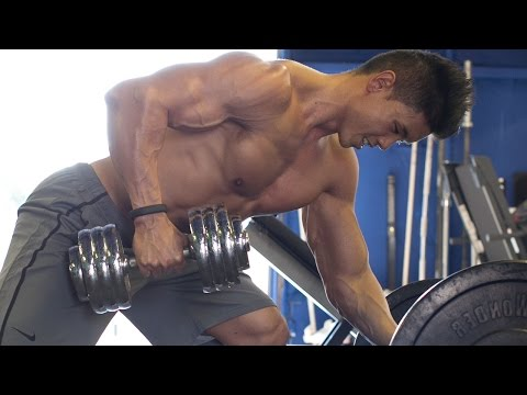 Dumbbell Home Back Workout - 45 Min Workout For V Taper Back