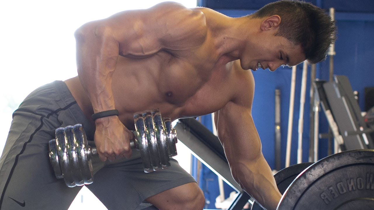 Dumbbell Home Back Workout