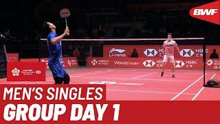 Group A | MS | Jonatan CHRISTIE (INA) vs. Anders ANTONSEN (DEN) | BWF 2019