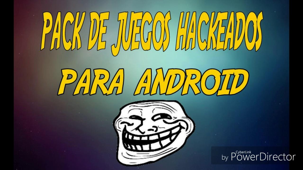 Pack De Juegos Hackeados Para Android Parte 1 Nicox 1220