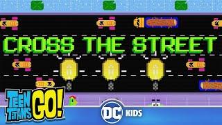 Teen Titans Go  8-bit Beast Boy Cross The Street  DC Kids