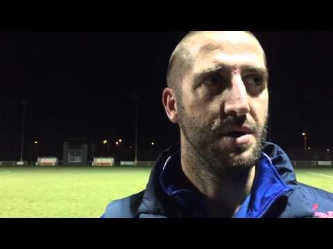 Post Match Interview -  Phil Baker