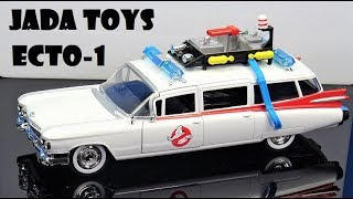 Jada Toys Die Cast Hollywood Rides Ecto-1 Ghostbusters 1959 Cadillac 1:24 scale review