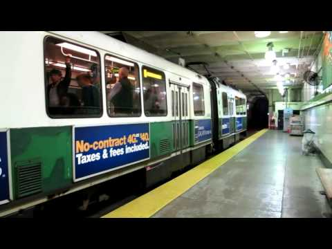 MBTA Green Line Compilation, Boston