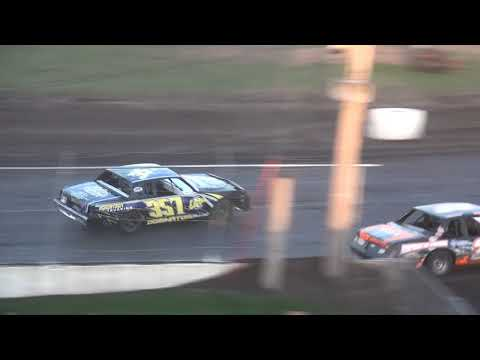 IMCA Hobby Stock feature Benton County Speedway 4/29/18