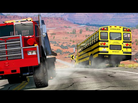 School Bus Accidents | BeamNG.drive