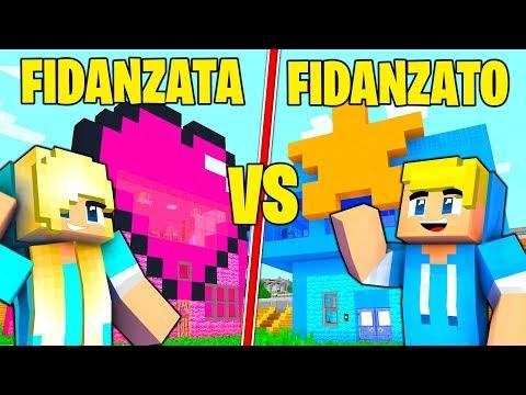 CASA FIDANZATO CONTRO CASA FIDANZATA! - Minecraft ITA SFIDA