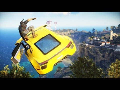 Just Cause 3 The First Hour of Gameplay Trailer Full HD   60FPS Poster