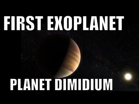51 Pegasi b - First Exoplanet Ever Discovered