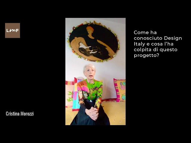 Design Italy incontra - Cristina Morozzi