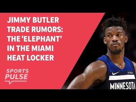 Jimmy Butler trade rumors: The 'Elephant' in the Miami Heat locker room