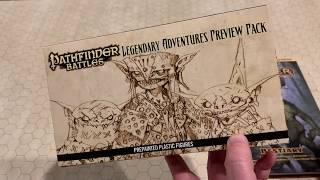 Legendary Adventures Preview Pack Sealed Pathfinder Pathfinder Battles