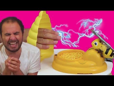 Elektrikli Sokan Arı Oyunu Oynadık | Bol Gerilimli Oyun