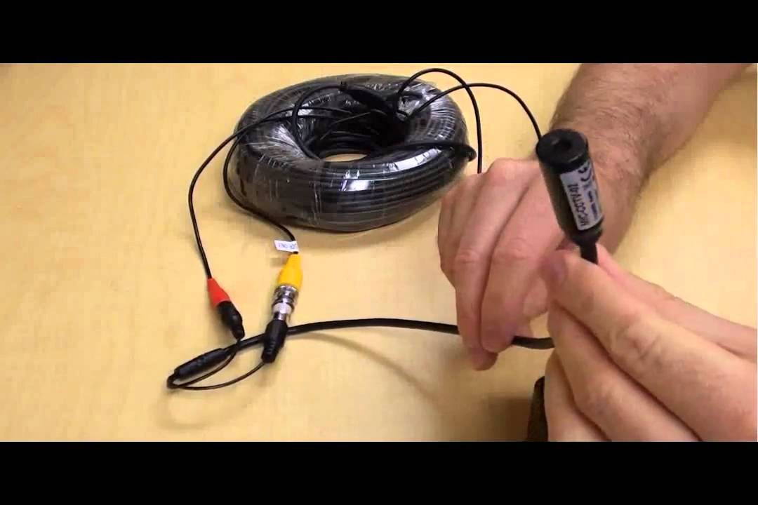 Cat6 Wiring Diagram For Cctv Audio Surveillance Microphone For Cctv Cameras Youtube
