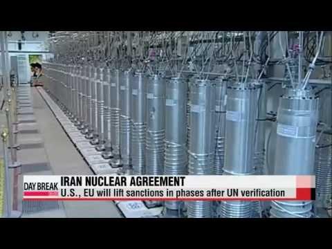 Iran reducing uranium enrichment capacity   이란 앞으로 핵 보유량 줄여나갈 것