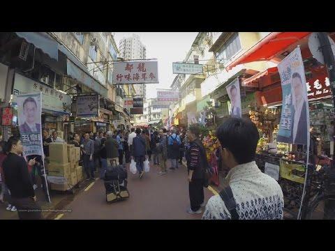 【Hong Kong Walk Tour】Fanling MTR → Fanling Wai → North District Park → Shek Wu Hui Market