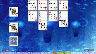 Hoyle Card Games 2005 - Solitaire - Canfield