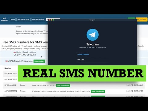Real SMS Number To Receive Sms