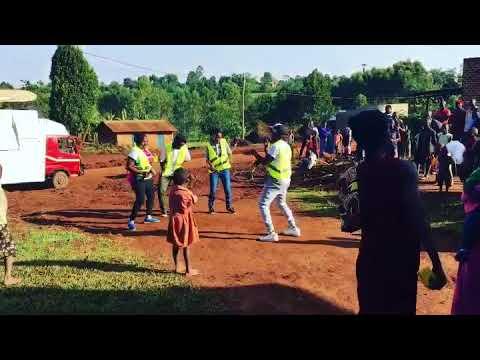 Ugandan Behaviour Change Communications Team During Universal Net Campaign