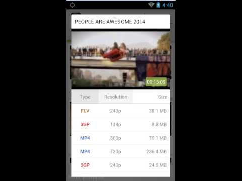 TubeChop - Download Youtube Video And Audio With Non-Rooted Android Device