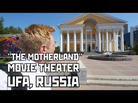 """""""The Motherland (Rodina)"""" Movie Theater in Ufa, Russia. Founded in 1953."""