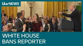 In full: CNN's Jim Acosta and President Donald Trump clash at White House | ITV News